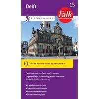 Falk Citymap & More 15. Delft