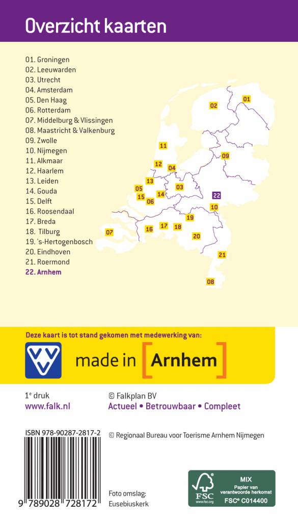 VVV Citymap & more 22. Arnhem, picture 85334414