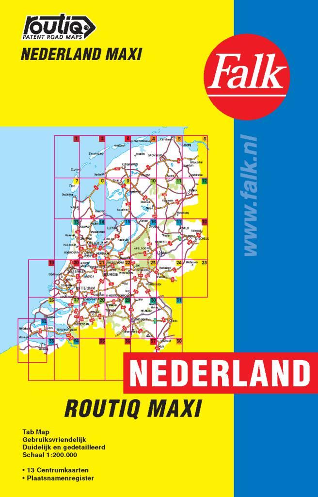 Falk Routiq autokaart Nederland Maxi Tab Map, picture 86019560