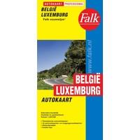 Falk Autokaart België / Luxemburg Professional
