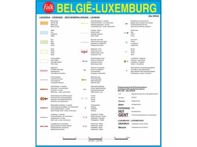 Falk Autokaart België / Luxemburg Professional, picture 86019587