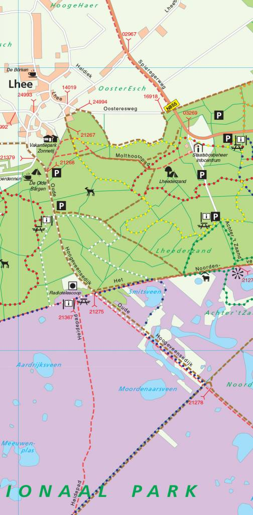 Natuurmonumenten Wandelkaart Natuurmonumenten 01. Nationaal Park Dwingelderveld, picture 86019983
