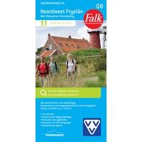 Falk Wandelkaart 08. Noordwest Fryslân met Vlieland en Terschelling