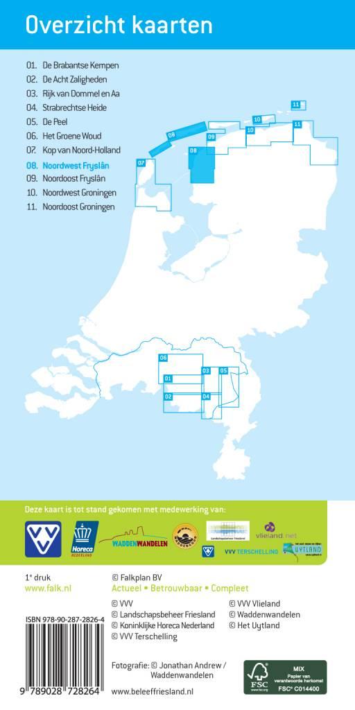 Falk 08. Noordwest Fryslân met Vlieland en Terschelling, picture 86020295
