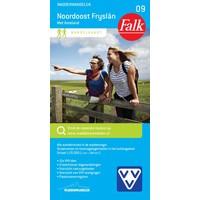 Falk Wandelkaart 09. Noordoost Fryslân met Ameland