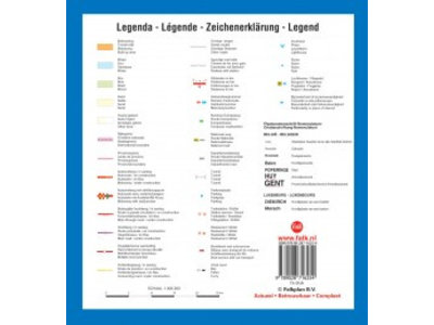 Falk Routiq autokaart België / Luxemburg Tab Map, picture 86024210