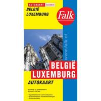 Falk Autokaart België / Luxemburg Classic