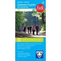 Falk Wandelkaart 12. Nationaal Park Zuidwest Fryslân met Gaasterland