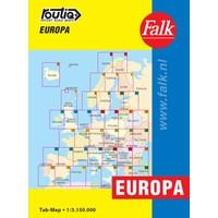 Falk Routiq autokaart Europa Tab Map
