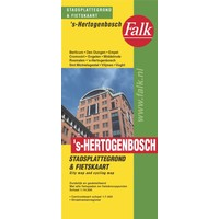Falk Stadsplattegrond & fietskaart s-Hertogenbosch