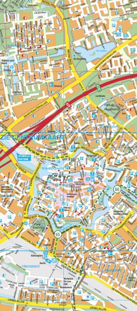 Falk Stadsplattegrond & fietskaart Zwolle, picture 103207175