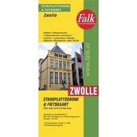 Falk Stadsplattegrond & fietskaart Zwolle