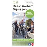 VVV Recreatiekaart Regio Arnhem-Nijmegen