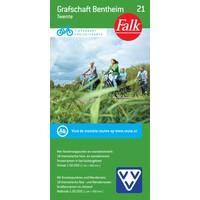 VVV Fietskaart 21. Grafschaft Bentheim