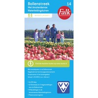 Falk Wandelkaart 14. Bollenstreek met Amsterdamse Waterleidingduinene