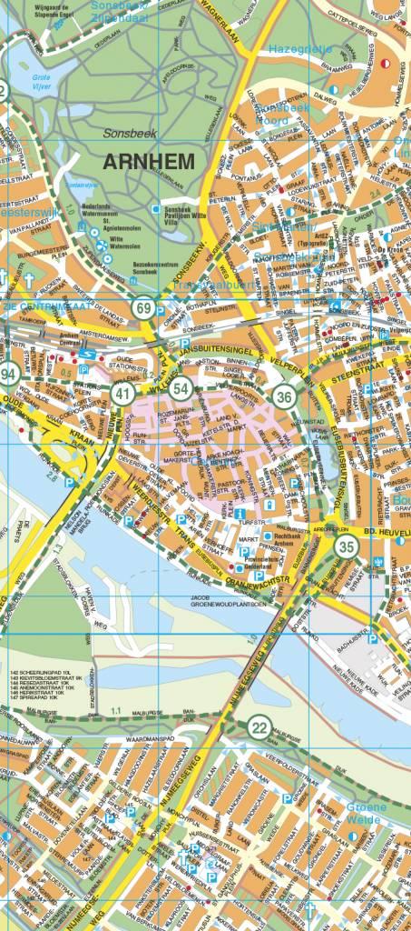 Falk Stadsplattegrond & Fietskaart Arnhem, picture 157347668
