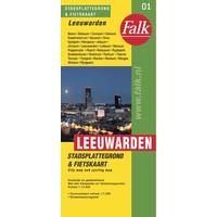 Falk Stadsplattegrond & Fietskaart Leeuwarden