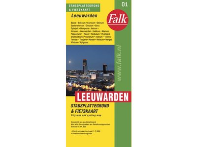 Falk Stadsplattegrond & Fietskaart Leeuwarden, picture 164990492