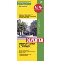 Falk Stadsplattegrond & Fietskaart Deventer