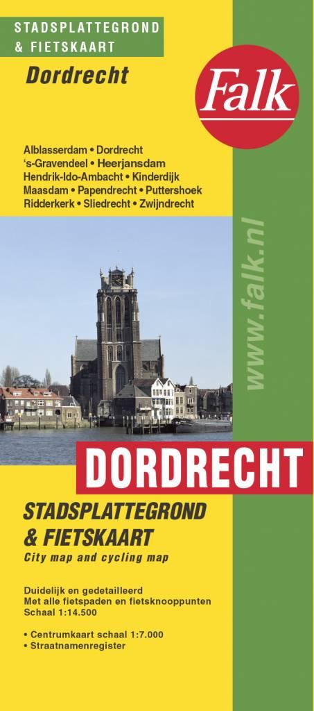 Falk Stadsplattegrond & Fietskaart Dordrecht, picture 165195359