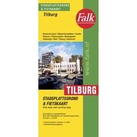 Falk Stadsplattegrond & Fietskaart Tilburg