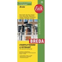Falk Stadsplattegrond & Fietskaart Breda