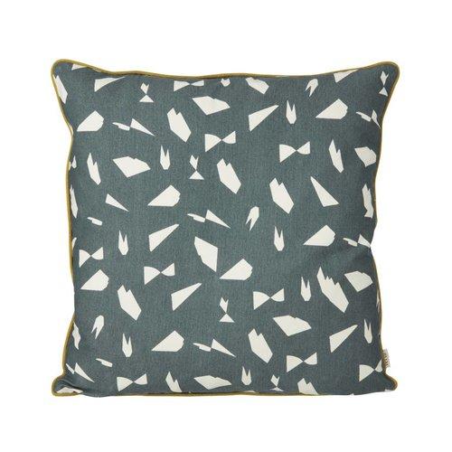 ferm LIVING ferm LIVING Mini Cut Cushion - Green