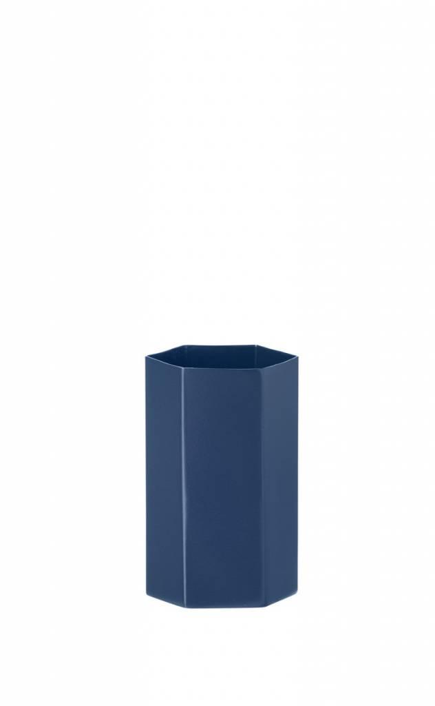 ferm LIVING ferm LIVING Hexagon Vase - Blue