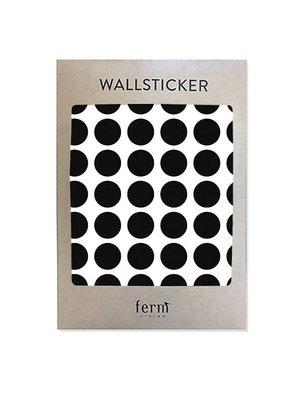 ferm LIVING Mini Dots Wallsticker - Black