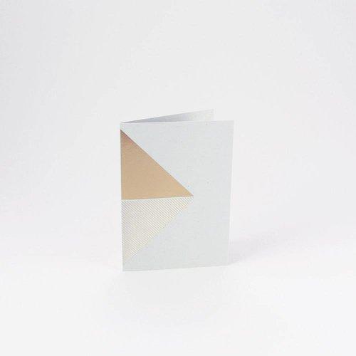 Tom Pigeon Tom Pigeon Reflex Cards Brass - Grey