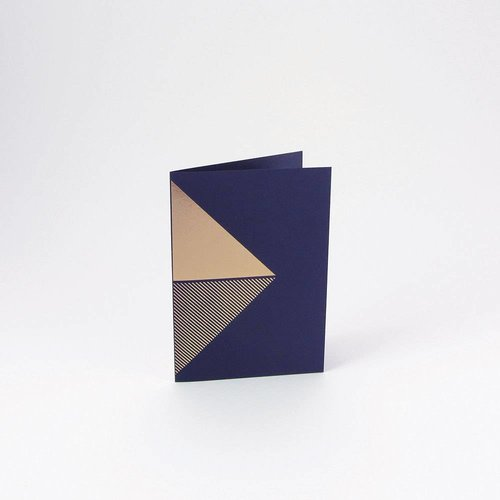Tom Pigeon Tom Pigeon Reflex Cards Brass - Navy