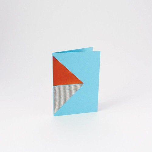 Tom Pigeon Reflex Cards Copper - Turquoise