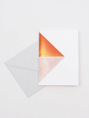 Tom Pigeon Reflex Cards Copper - White
