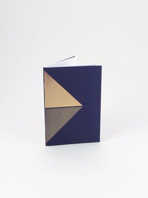Tom Pigeon Reflex Pocketbooks Brass - Navy