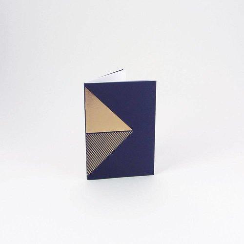 Tom Pigeon Reflex Pocketbooks Brass - Navy