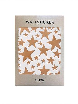 ferm LIVING Mini Stars Wallsticker - Copper