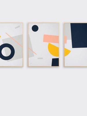 Tom Pigeon Shipwreck Prints - Set of 3