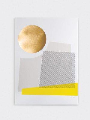 Tom Pigeon 'Day' Print - A2