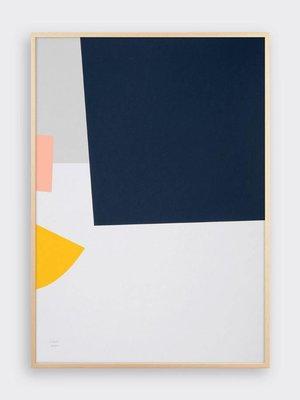 Tom Pigeon 'Lagan' Shipwreck Print - A2