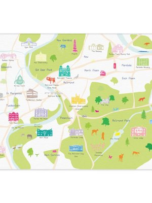 Holly Francesca Map of Richmond A3