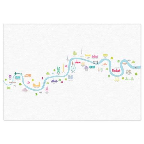 Holly Francesca Thames Barrier to Barnes Bridge - A3