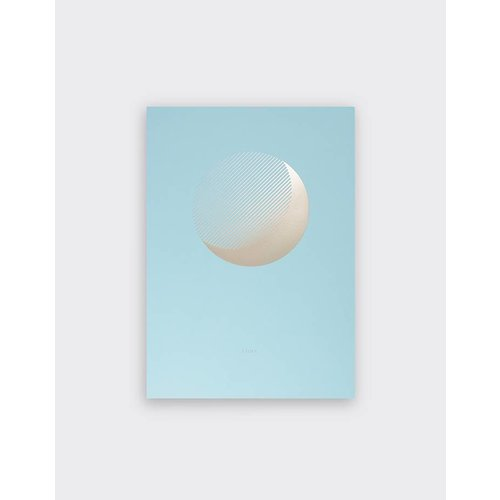 Tom Pigeon 'Luna' Day Print A3