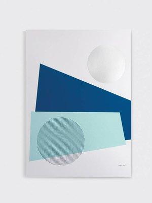 Tom Pigeon 'Night' Print A2