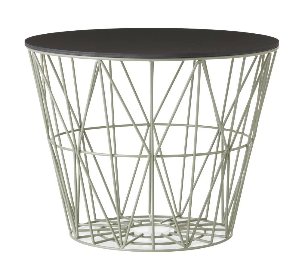 ferm living wire baskets green truce. Black Bedroom Furniture Sets. Home Design Ideas