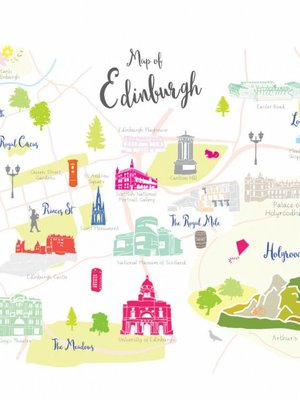 Holly Francesca Map of Edinburgh A3