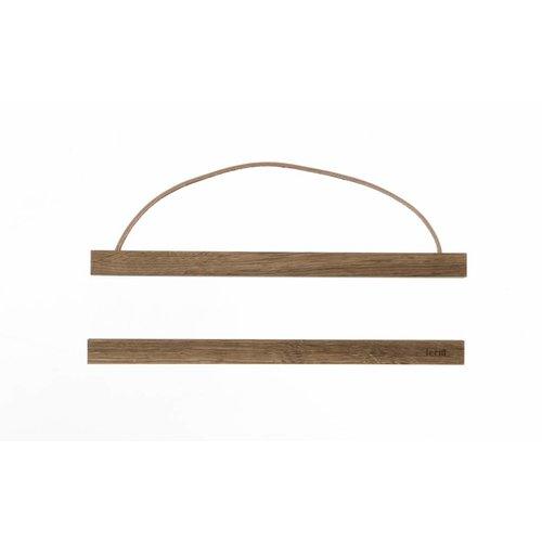 ferm LIVING Wooden Frames - Smoked Oak - Small