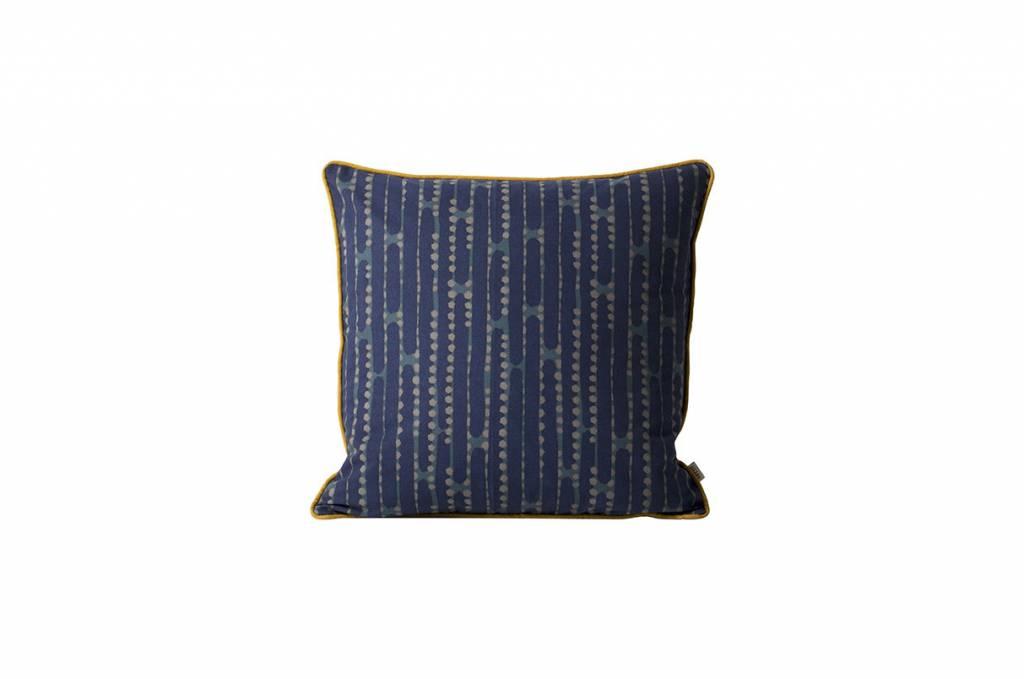 ferm LIVING ferm LIVING Aligned Cushion - Blue