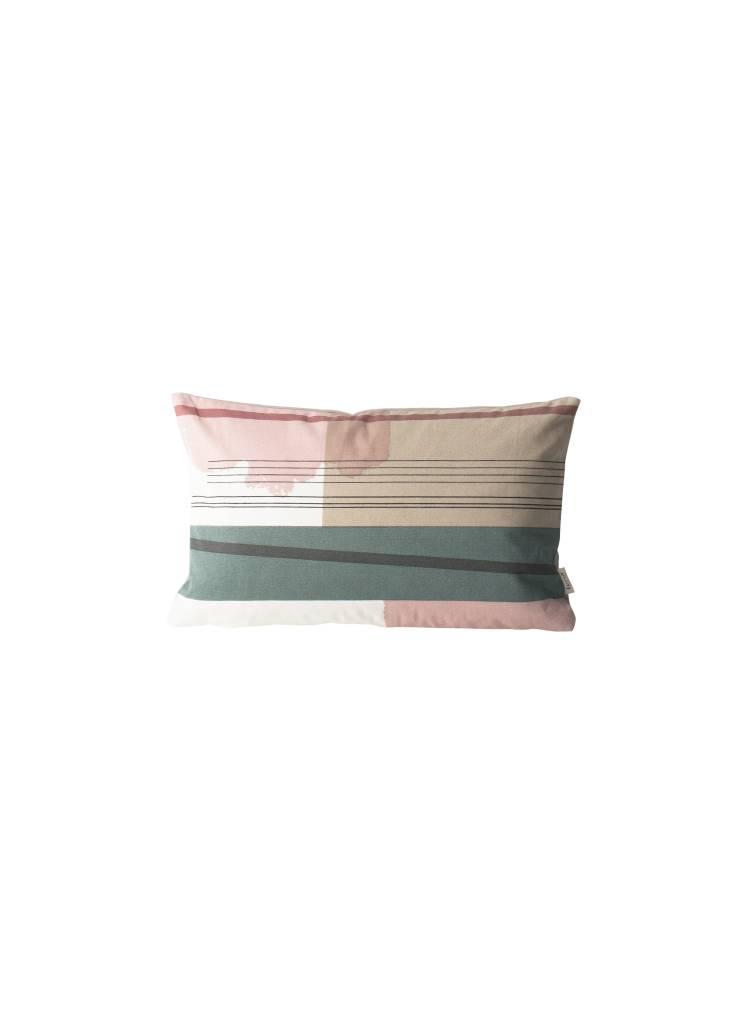 ferm LIVING Ferm Living Colour Block Cushion - Small - 1