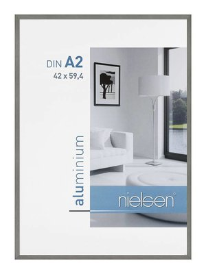 Aluminium Silver Frame