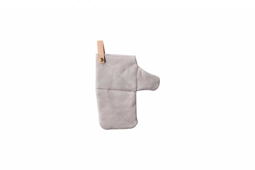 ferm LIVING Ferm Living Canvas Oven Mitt - Grey